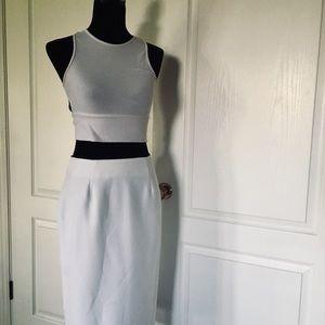 Vintage Midi Skirt 🥥🥛